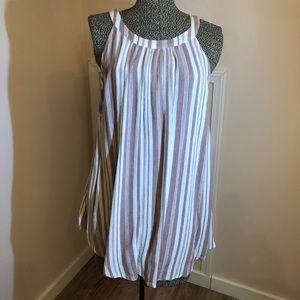 Torrid Size 1 Cotton Gauzy Striped Top